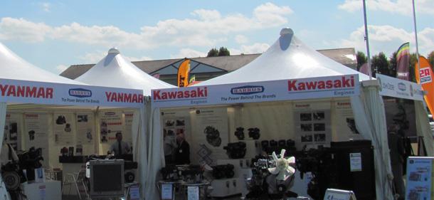 Kawasaki at Saltex & Kawasaki Shows 2014 | Barrus