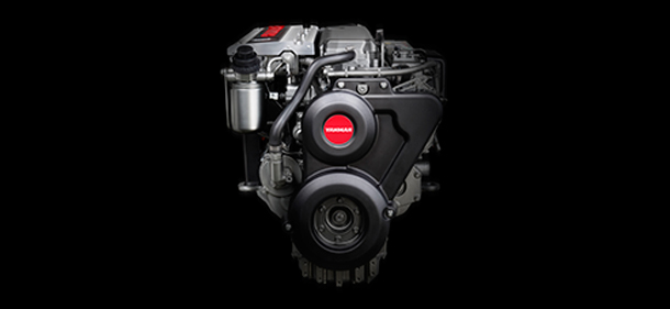 The new Yanmar 6LY440 highest power to weight ratio in its class