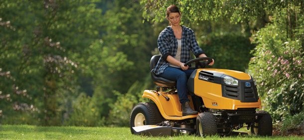 Where strength meets comfort the new lt range from cub for Cub cadet lt1